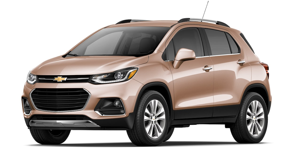 Camioneta Chevrolet Trax 2019 color cobre