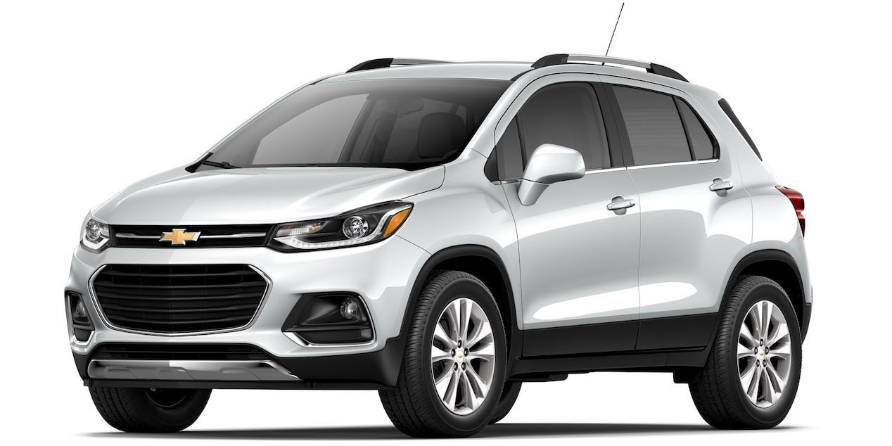 Camioneta Chevrolet Trax 2019 color blanco